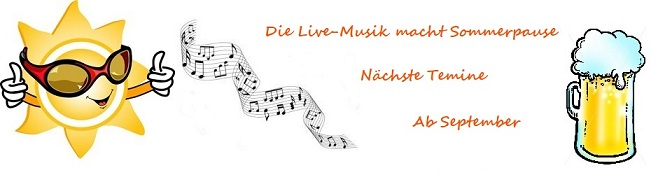 Live-Musik Sommerpause